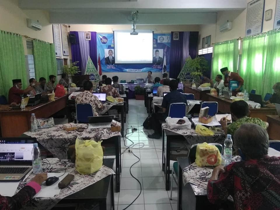 Pelatihan Guru dibidang LMS Pembelajaran Online
