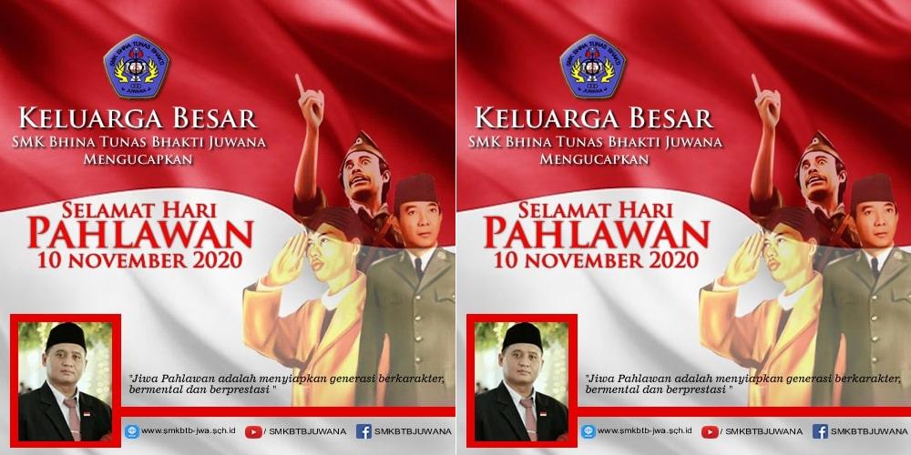 Selamat HARI PAHLAWAN 10 November 2020