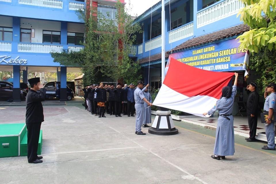 Upacara Bendera tanggal 1 Agustus 2019