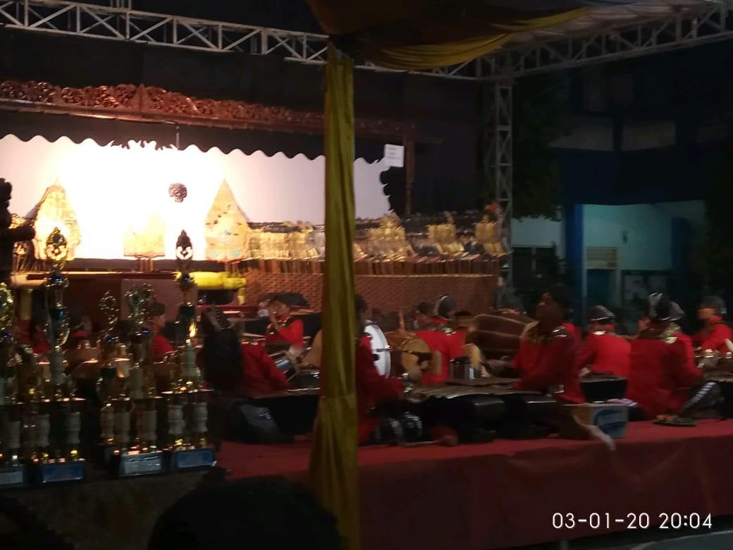 Pagelaran Wayang Kulit HUT ke-50 SMK Bhina Tunas Bhakti Juwana 2020