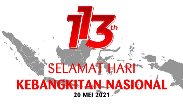 Selamat Hari Kebangkitan Nasional Tahun 2021